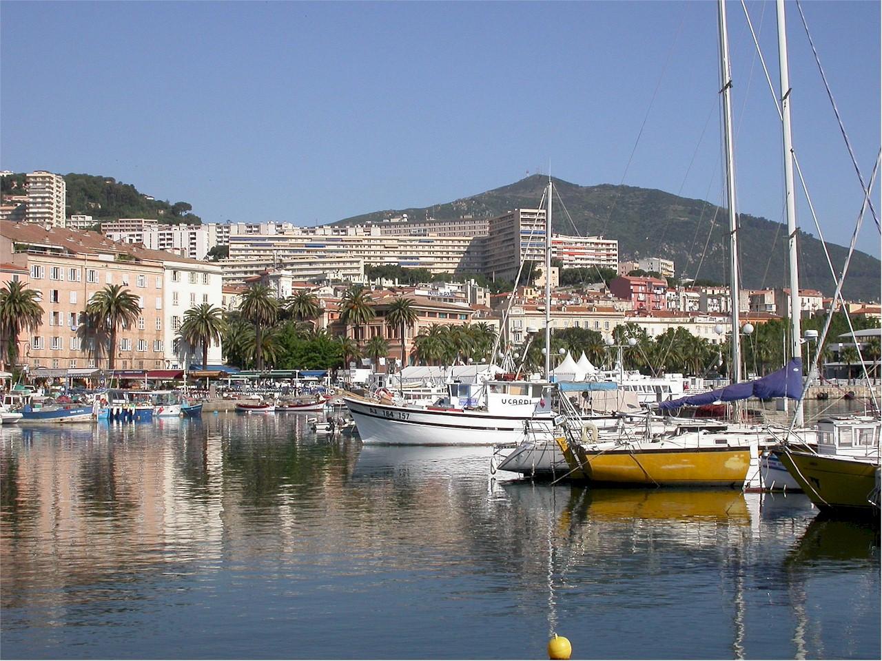 Ajaccio-harbor