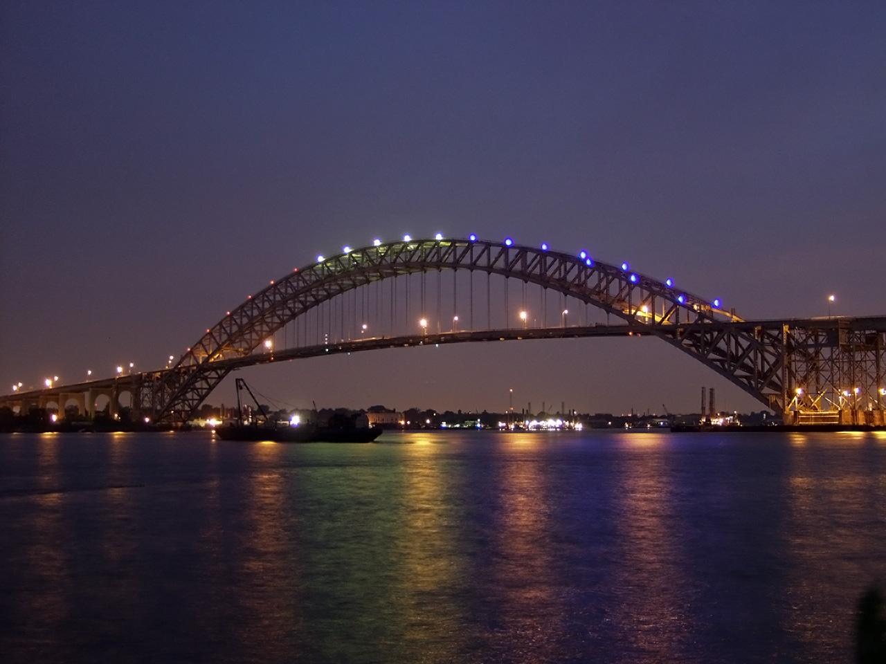 Bayonne-bridge-sunset