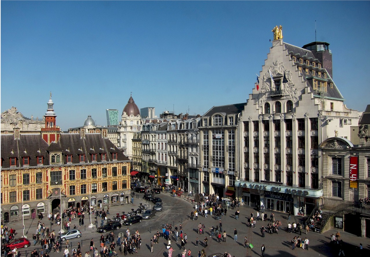 Lille-grand-place