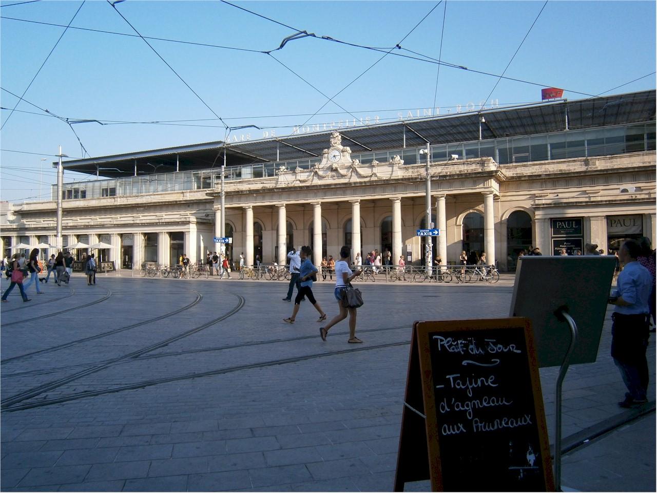 Montpellier-Saint-Roch-train-station