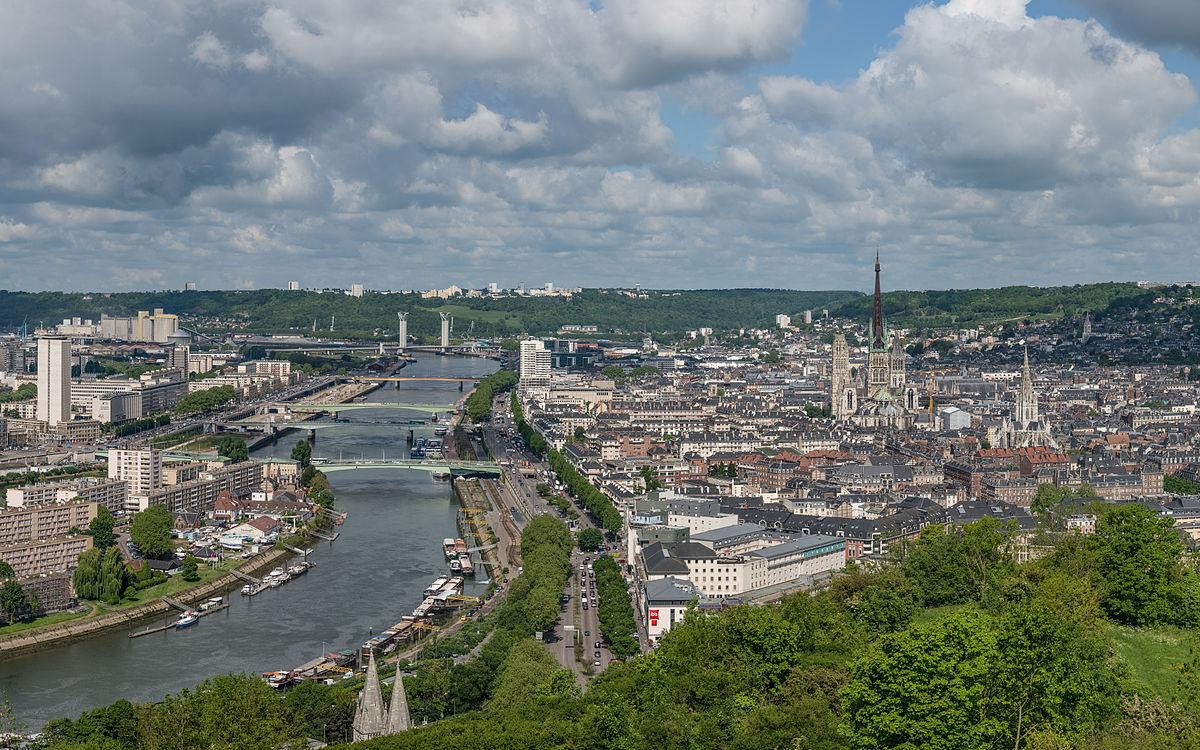 Rouen-Seine-River