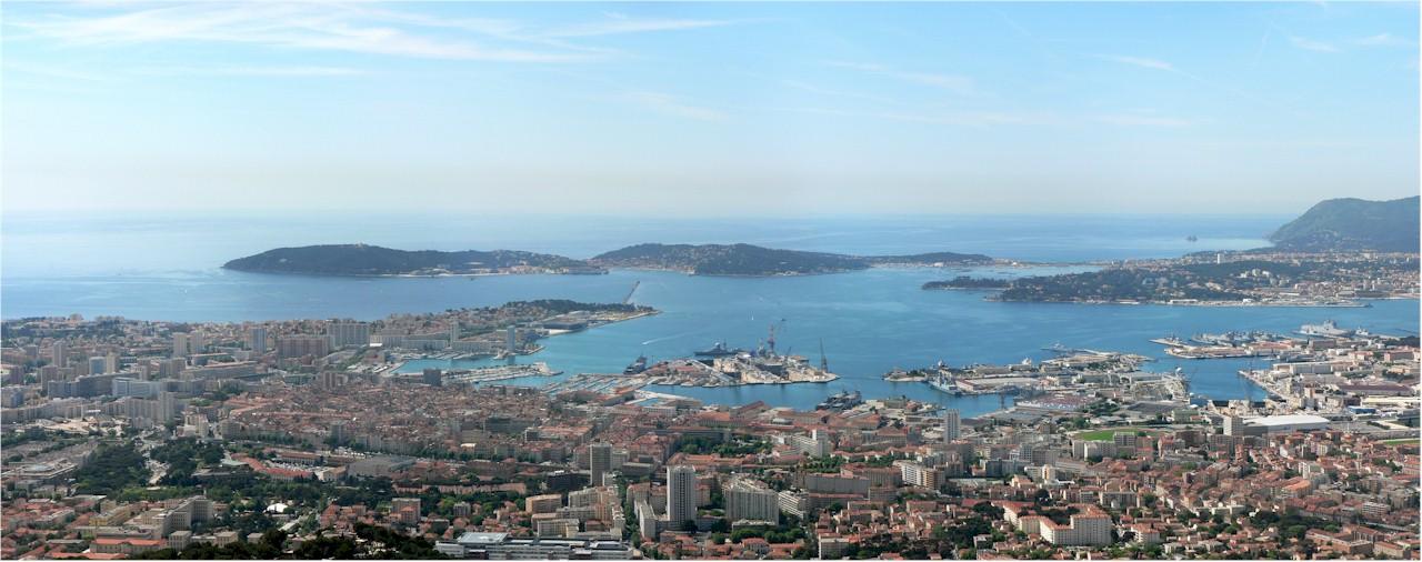 Toulon-panorama