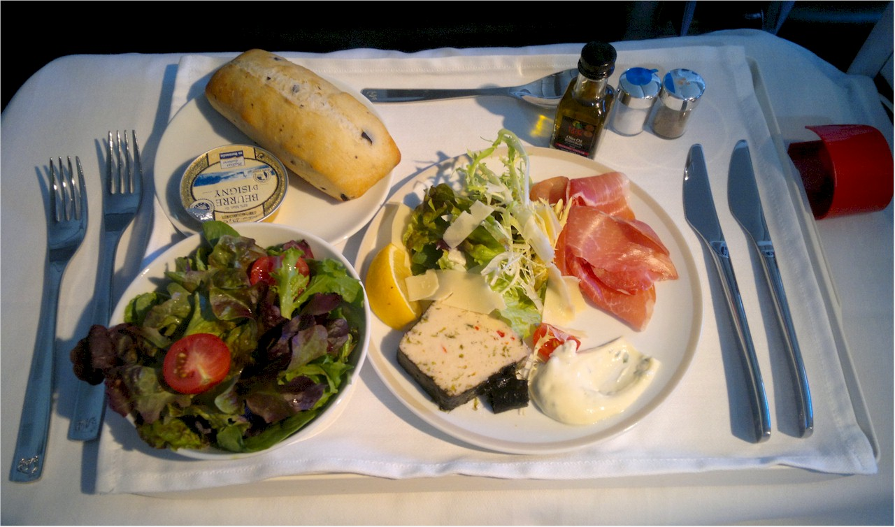 Air-France-Business-Class-appetizer