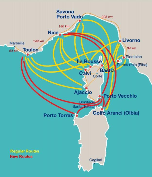 Corsica-Ferries-Routes