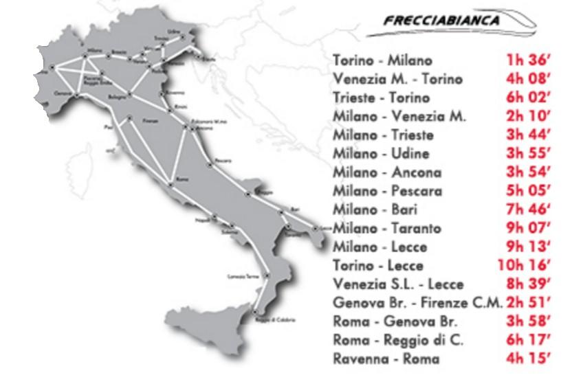 Italy-Frecciabianca-train-network
