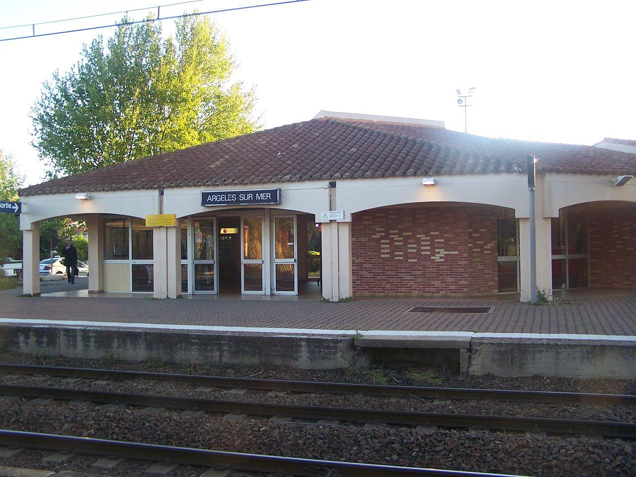Argeles-sur-Mer-train-station