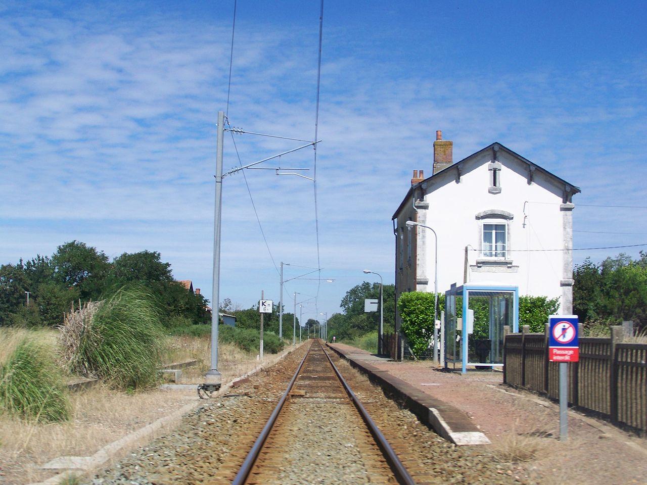Olonne-sur-Mer-train-station