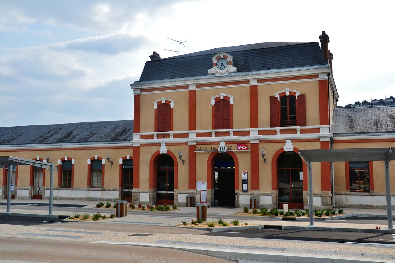 Tulle-train-station