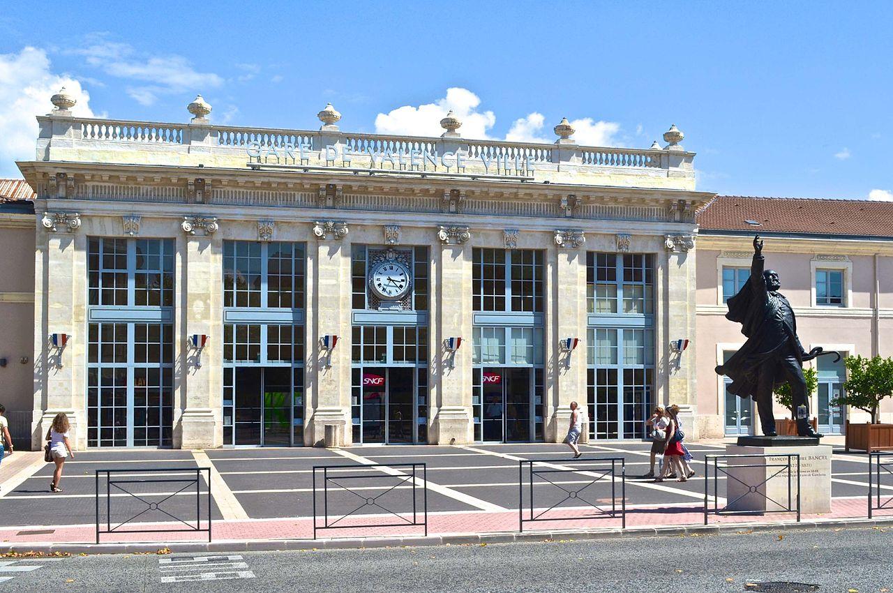 Valence-Ville-train-station