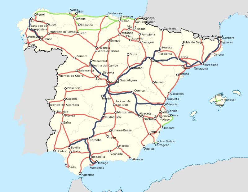 1921_Spain-railway-network