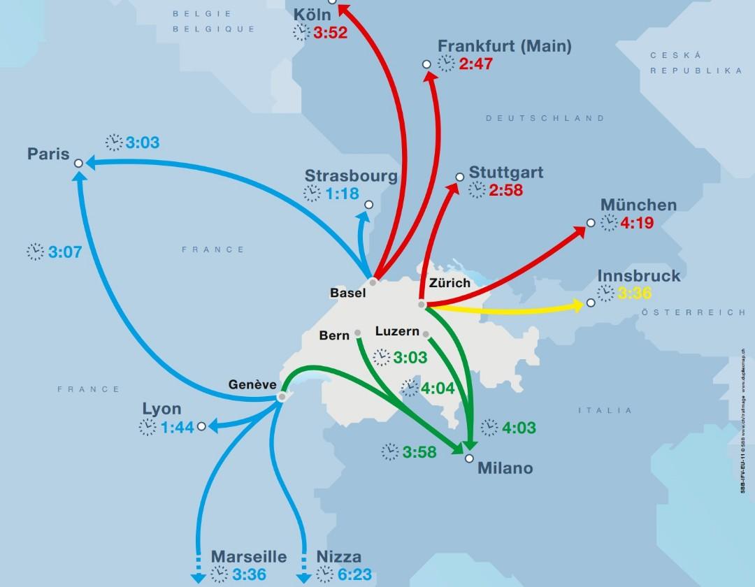 Switzerland-Eurocity-network-travel-times