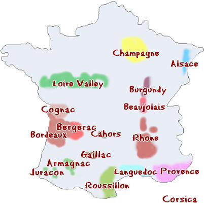 Regions In France Map.Maps Of France Bonjourlafrance Helpful Planning French Adventure